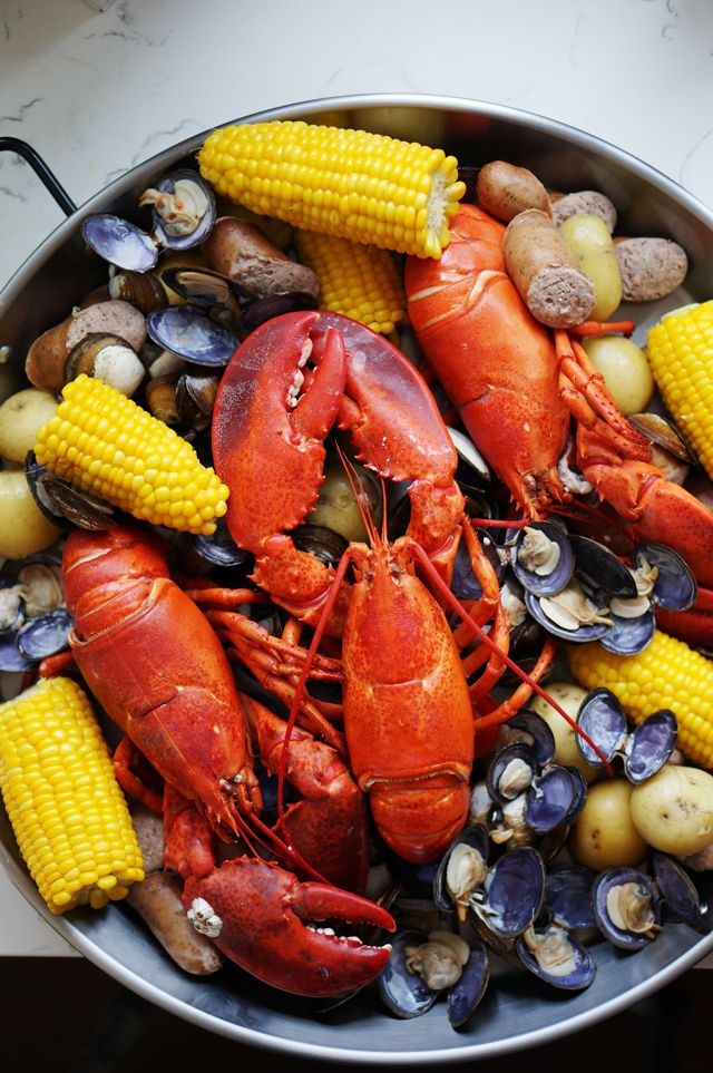 ... Looks Food, Maine Lobsters, Northern Lobsters, Lobsters Boiled, Howto