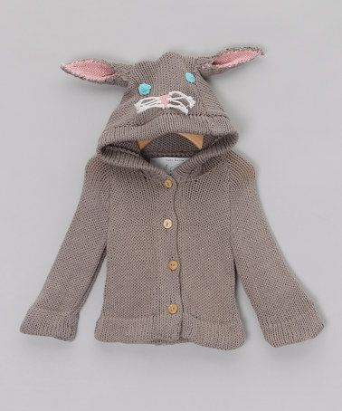 Take a look at this Grey Bunny Sweater - Infant & Toddler by Toto Knits on #zulily today!