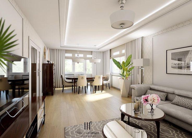 Salon. Ujęcie nr 2 ☀️☀️☀️ #interiordesign #home #livingroom #mylastproject #design #livingdecor #diningroom #mirror #furniture #modern #glam #glamourous #details #modernclassic #style #glossy #decorations #decorationideas #byme #familyspace #classy #comfy #shiny
