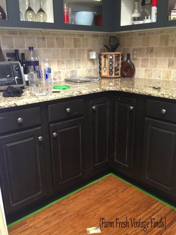 Painting Thermofoil Cabinets with Annie Sloan the Reveal  Farm Fresh Vintage Finds  DIY Ideas