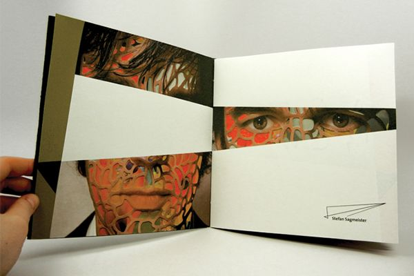 Stefan Sagmeister // Exhibition Catalogue on Behance
