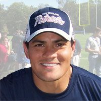 Tedy Bruschi. Oh Tedy, how do I love thee. Let me count the ways... In addition to being the greatest defensive player in Patriots history, Tedy won America's hearts when he came back to the game after suffering a debilitating stroke.
