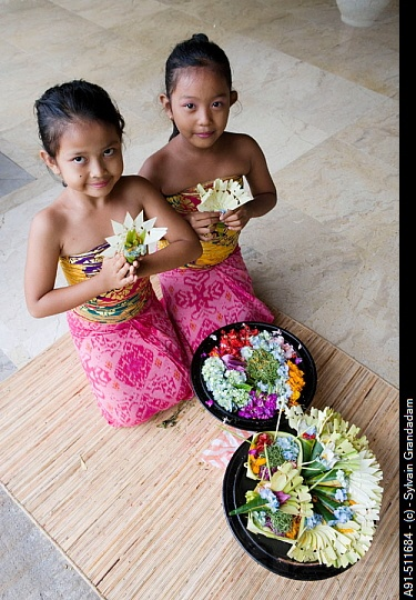 Beautiful Balinese children Bali Floating Leaf Eco-Retreat. http://balifloatingleaf.com/