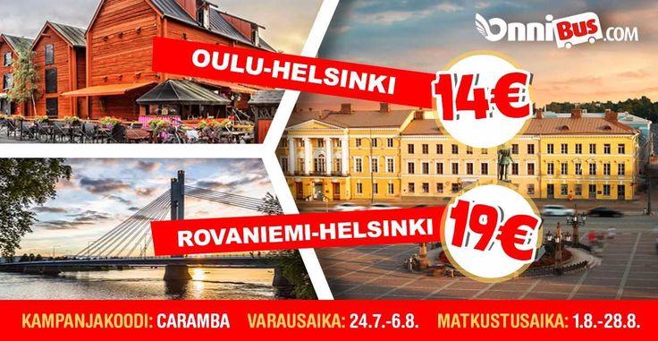 Onnibus.com - NOPEA HALPA LUOTETTAVA. Suomi - Eurooppa