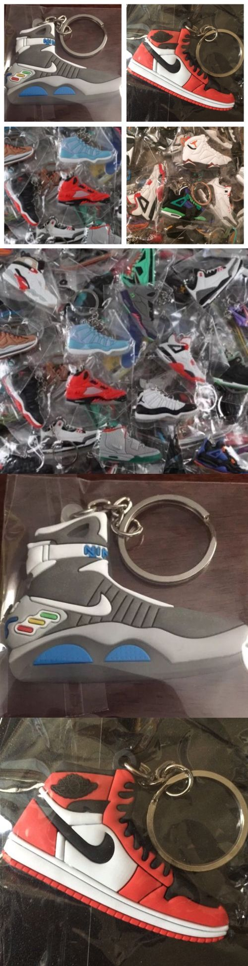 Key Chains Rings and Cases 52373: 30 Jordan, Yeezy, Lebron, Misc. Shoe Keychains + Free Gift - Random Picked By Us -> BUY IT NOW ONLY: $35 on eBay!