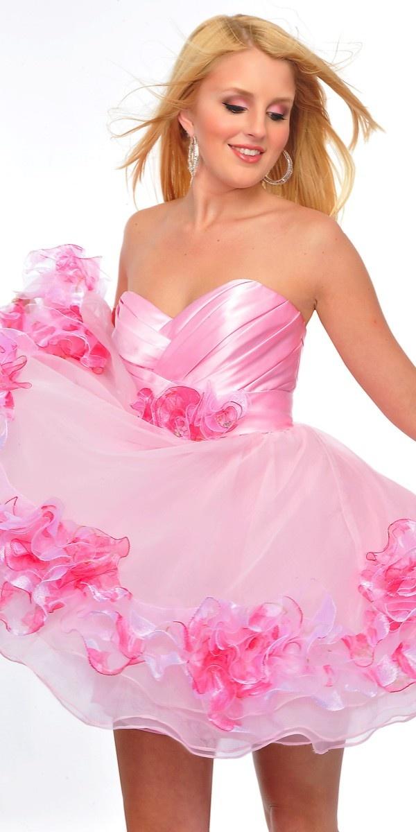 48 best Sweet Sixteen images on Pinterest | Party wear dresses ...