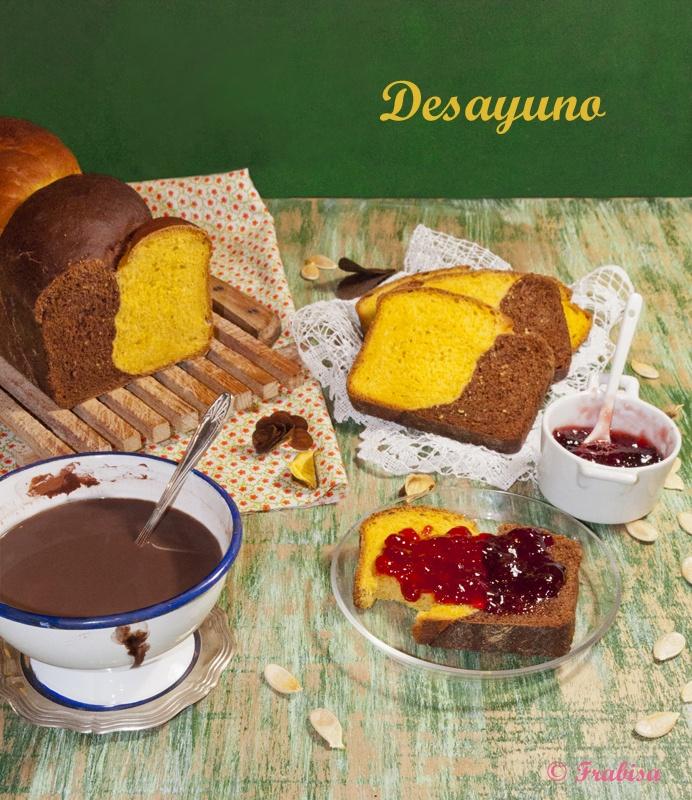 La cocina de Frabisa: Pan de calabaza y chocolate