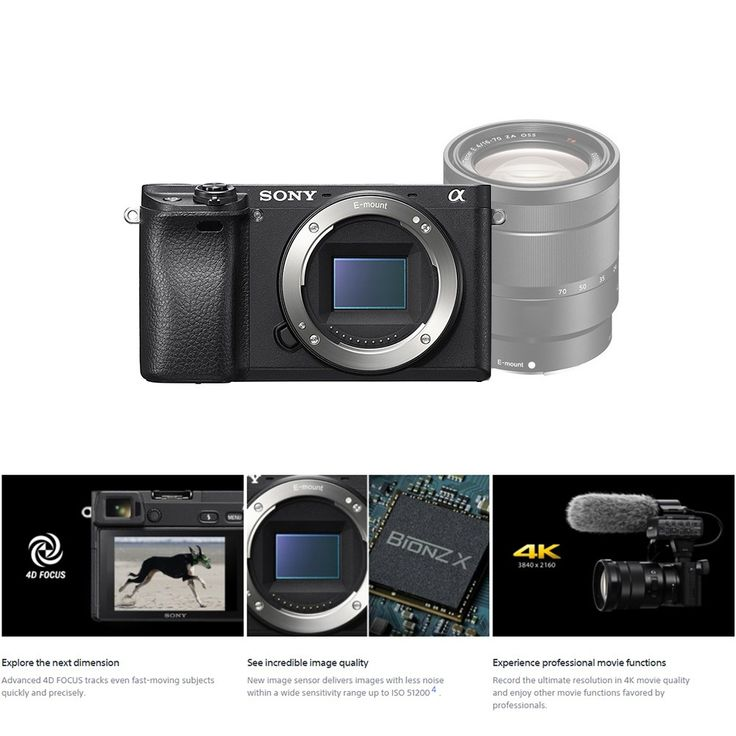Buy best Array Sony A6300 ILCE-A6300L Mirrorless Digital Camera from Tomtop.com. Cheap Digital Camera online, various discounts are waiting for you