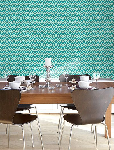 self adhesive vinyl temporary removable wallpaper wall decal triangle zig zagpattern 037