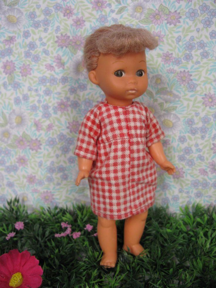 Amanda Jane Doll - Vintage Doll - 1970s Doll - Plastic Doll - 70s Doll - Vinyl Doll  - Girl Doll - 1970s Toys - by MissieMooVintageRoom on Etsy
