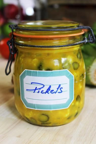 Pickles DIY njam