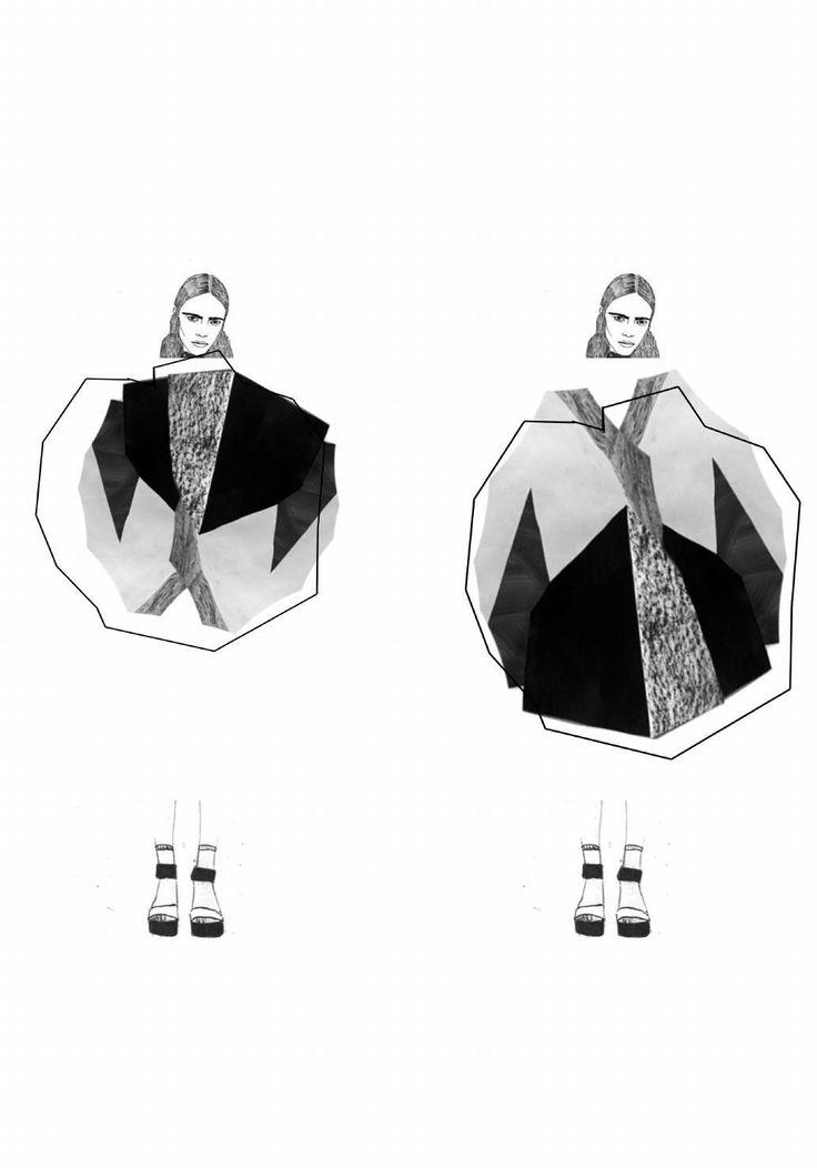 Fashion Sketchbook - fashion illustrations; fashion student portfolio // Stephanie Lai