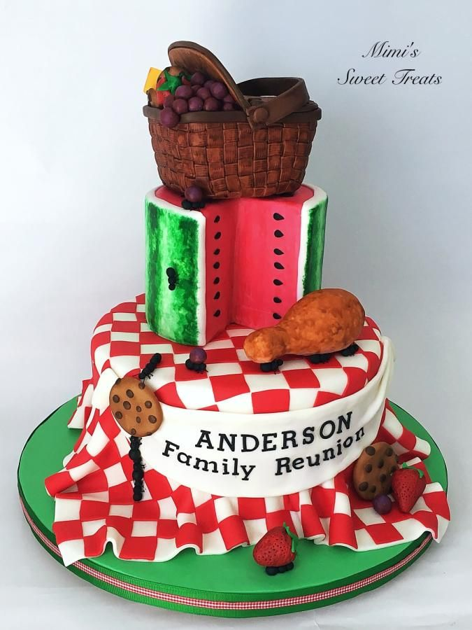Family Reunion Picnic Cake by MimisSweetTreats