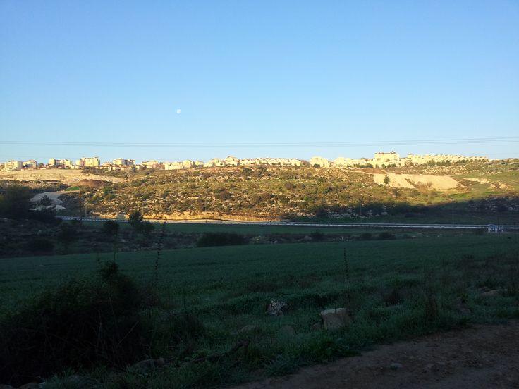 Sunrise on Beit Shemesh. Feb.2014