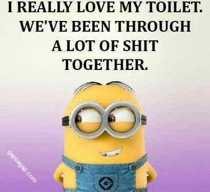 #Funny #Minion #Jokes About Toilets