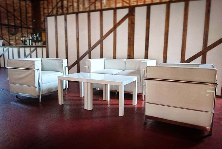 This #Furniture #Friday we love our sophisticated Le Corbusier Set - hire this set now for 20% less! See the full details of this offer on our website: http://www.alfrescohire.com/special-offers  www.alfrescohire.co.uk 01279 870997  #events #wedding #TGIF #hire #weekend #sofa