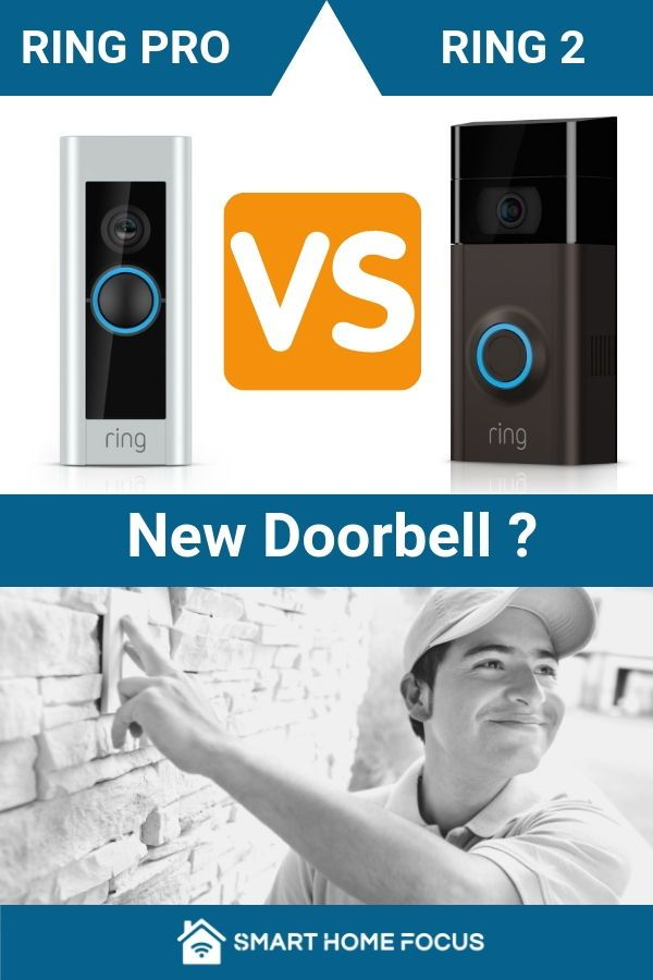 Ring 2 Vs Ring Pro Great Choice Ring Is A Great Choice For Your Video Doorbell The Quality Of The Product Eas Ring Doorbell Doorbell Install Video Doorbell