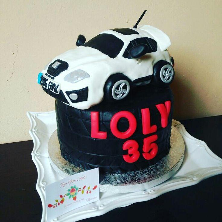 Seat Cupra rkt cake