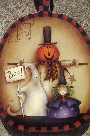 Country Primitives: Halloween Trio