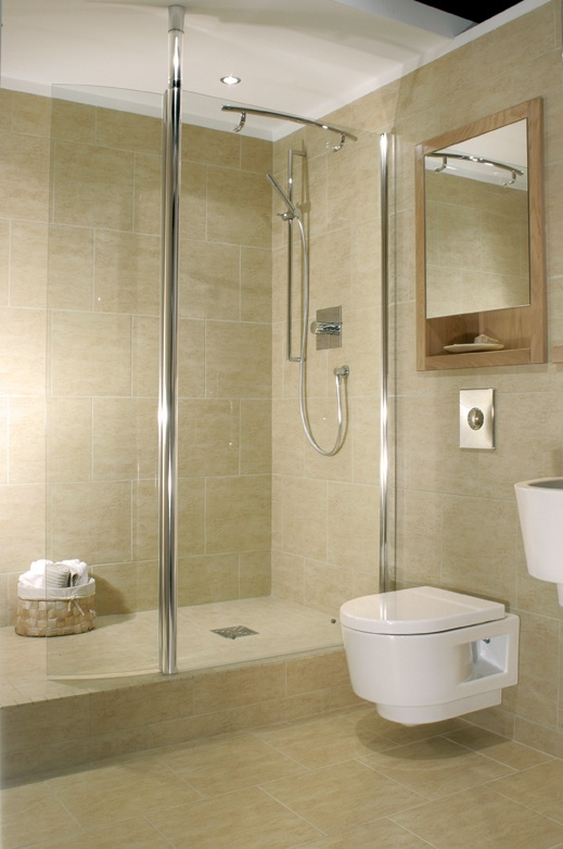 Built up Wet Room Tiled Shower tray Wet Rooms By Design