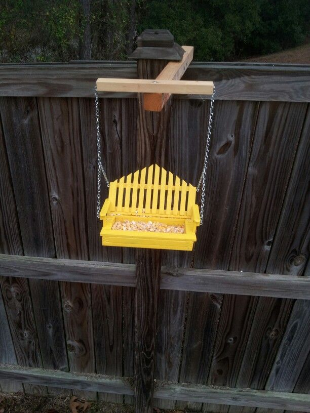 swinging bird feeders