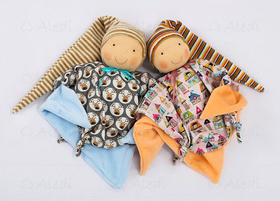 Waldorf first doll for boys soft toys 1st birthday gift