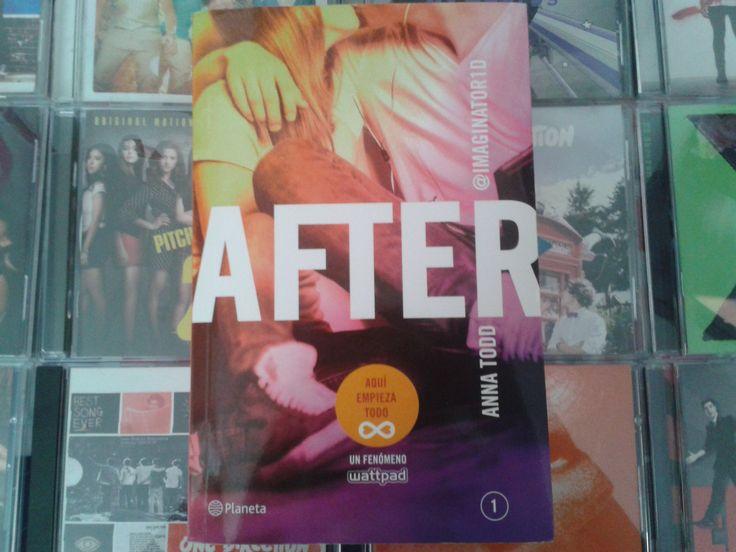 """""""After"""" escrito por Anna Todd:"""