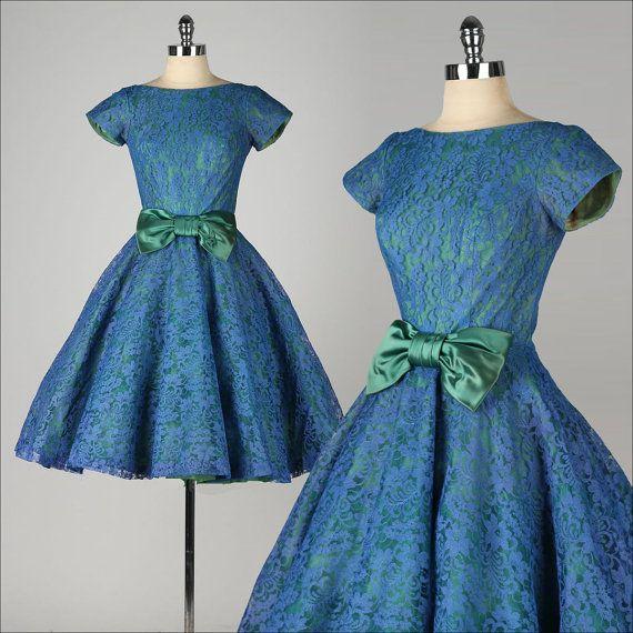 les f es tisseuses quel tissus pour une robe type ann es 50. Black Bedroom Furniture Sets. Home Design Ideas