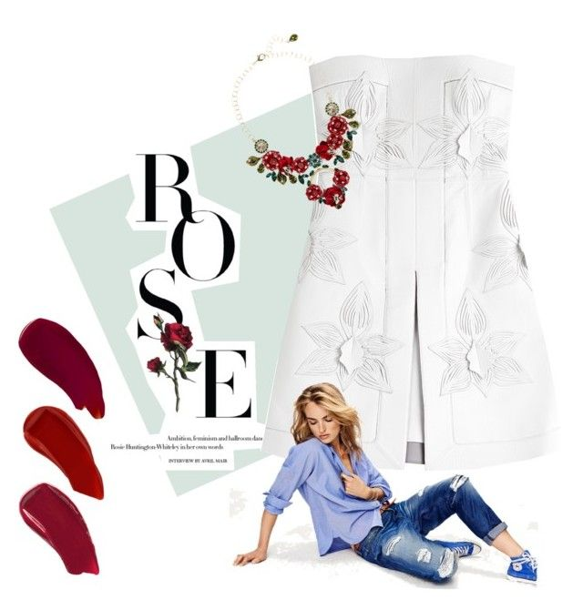 Untitled #13 by traversrt on Polyvore featuring polyvore, мода, style, Fendi, Dolce&Gabbana, Ellis Faas and Maison Scotch