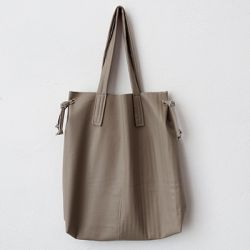 Make a faux leather tote bag! Easy step by step tutorial!