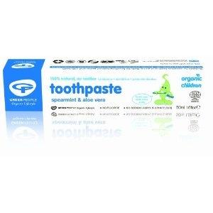 Flouride free toothpaste for kids.