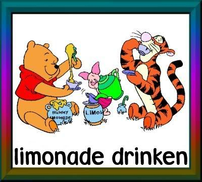 limonade drinken
