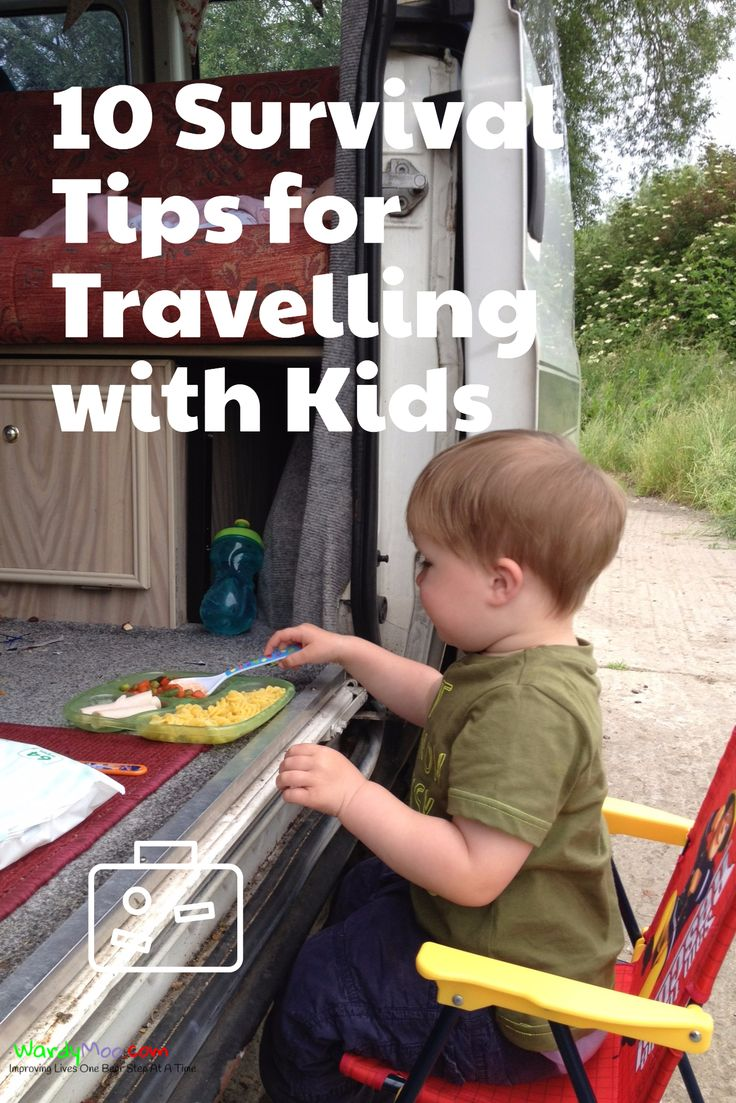 10 Survival Tips for Travelling with Kids  Just because you have kids it does not mean you cannot travel.  We love been away, from flying to the other side of the world with a seven-month-old to road trips with a two-year-old and a baby.  You can still have fun give these 10 survival tips a good on your next trip
