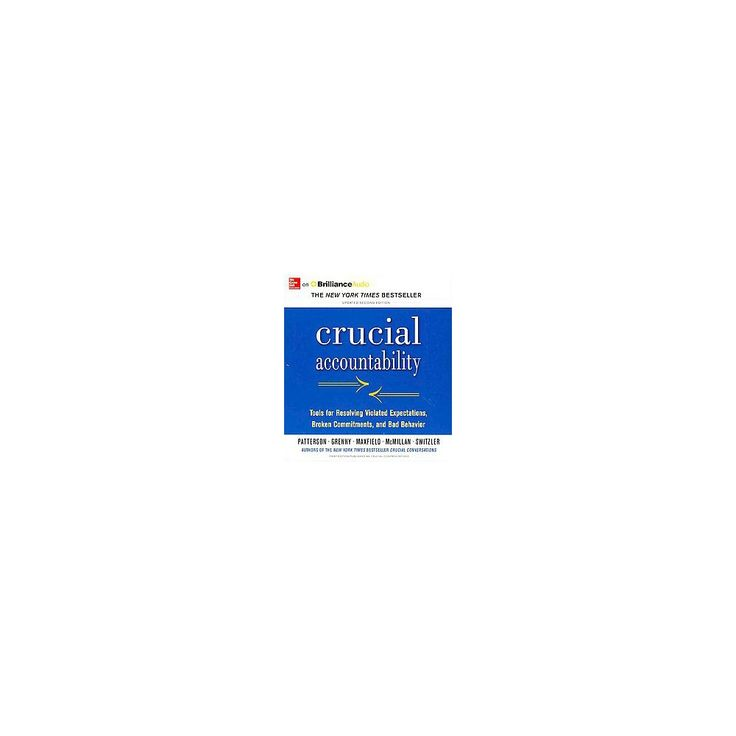 Crucial Accountability (Unabridged, Updated) (Compact Disc)