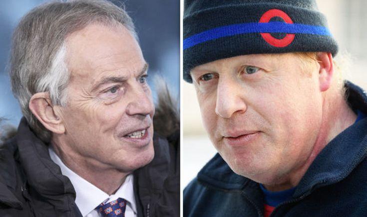 Boris Johnson slams 'ULTRA-REMAINER Tony Blair' for fighting 'proxy war' to STOP BREXIT
