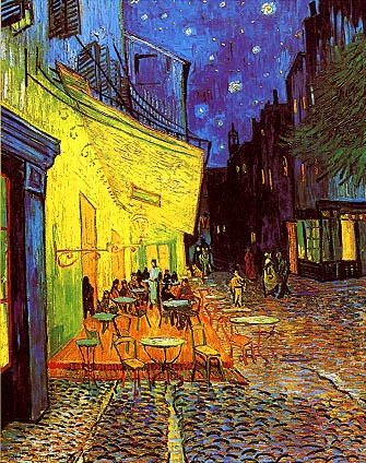 Cafe Terrace at Night - Van Gogh