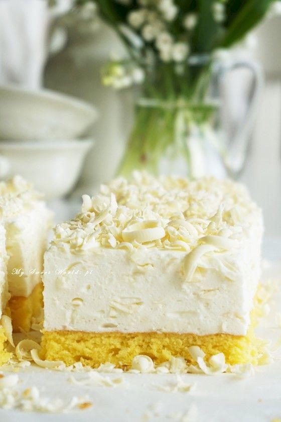 "Ciasto ""Biały puch"" || mysweetworld"