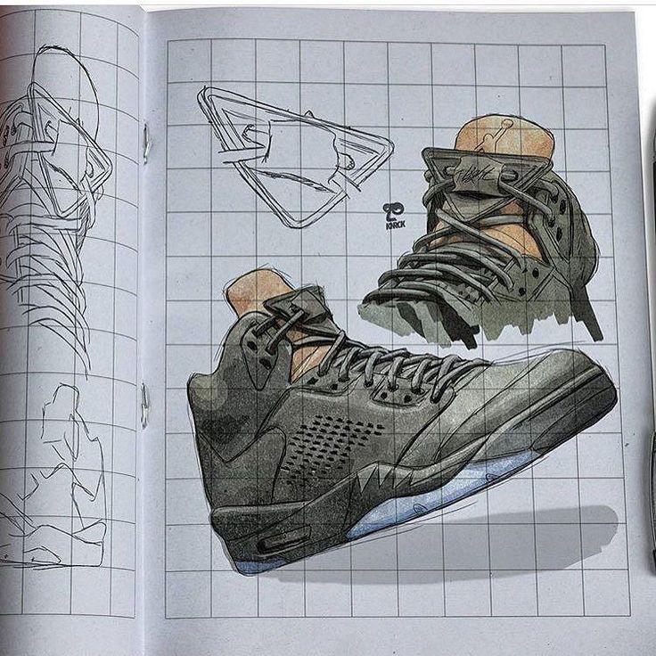#sneakerart #artist @kenr0ck