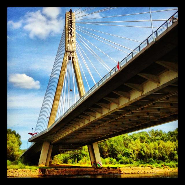 Most Świętokrzyski #warsaw #poland