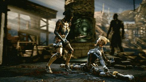 "And tons of X-ray skull crushing: | 15 Killer GIFs That Will Get You Pumped For ""Mortal Kombat X"""