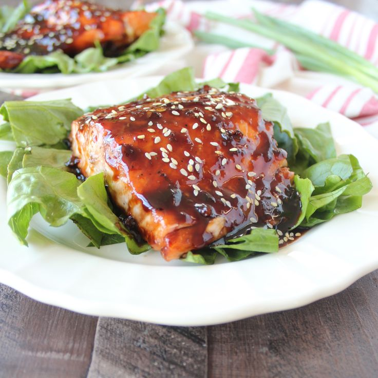 Korean BBQ Grilled Salmon - This tasty dish is sweet, packed with flavor (not to mention calcium) and is incredibly easy to prepare and grill!