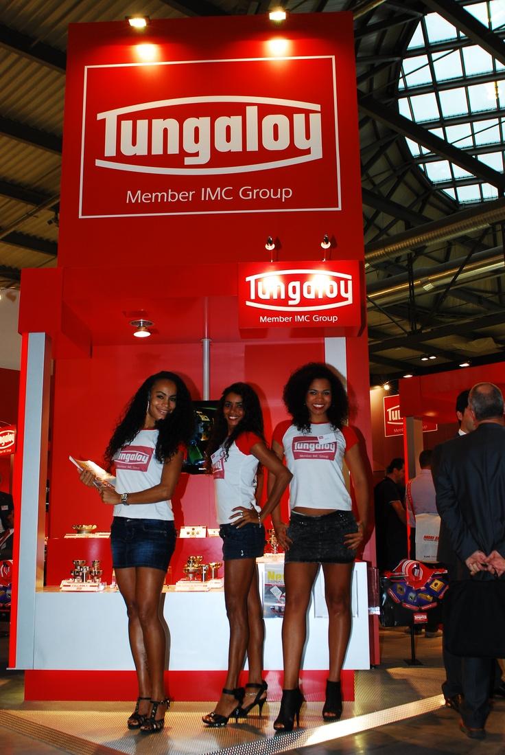 BIMU 2010 - Stand Tungaloy standiste brasiliane mie amiche