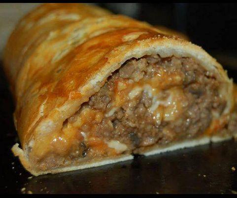 Stuffed Meatloaf Roll