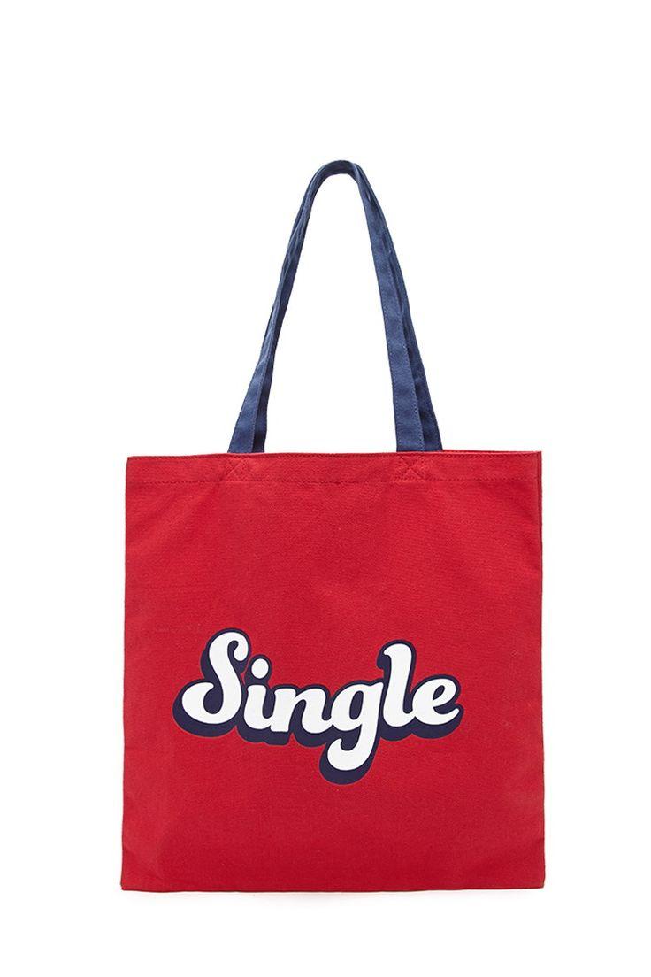 """Shopper-Tasche """"Single"""" / """"Taken"""" - Damen Accessoires, Schmuck und Taschen   online shoppen   Forever 21 - Taschen - 1000153247 - Forever 21 EU Deutsch"""