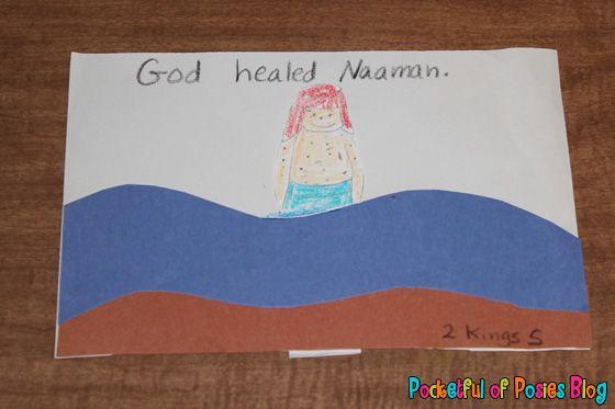 Sunday School Crafts: Naaman | MMO | Sunday school crafts, Toddler