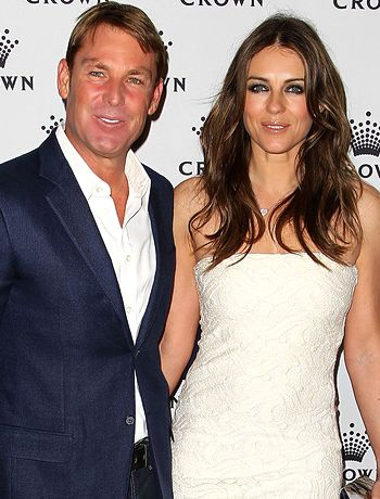 Shane Warne and Elizabeth Hurley have called it quits!