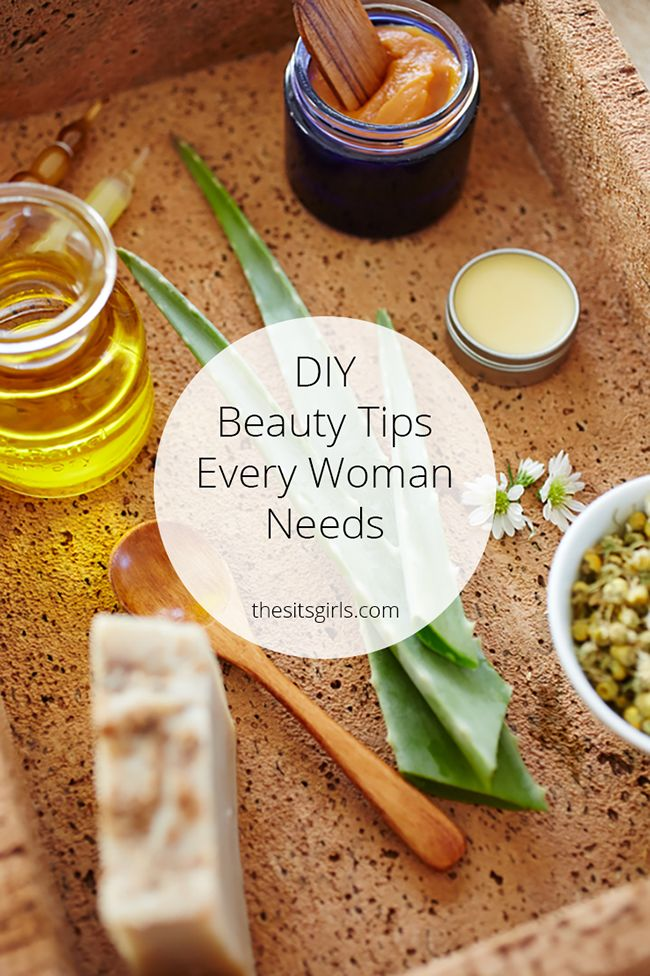 All of our best DIY beauty tips collected in one place. Plus homemade beauty products, recipes for natural cosmetics, and great DIY soaps and scrubs.