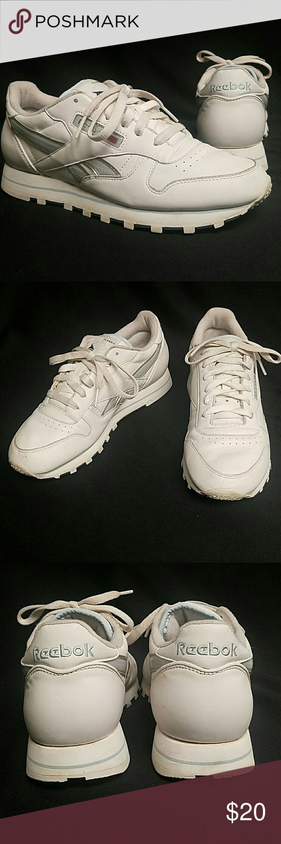 Reebok Classic Women Size 8.5 Great Condition Up for sale is a pair of Original Reebok Classics  Size 8.5 Women Great Condition with less than normal wear. Very Classic Stylish shoe. Ships Same day. Guaranteed. Reebok Shoes