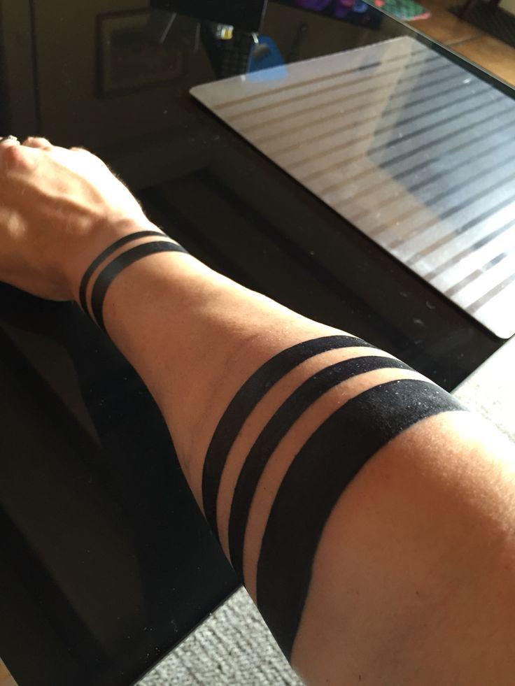 Tatouage bandes Tattoo band, minimalist, geometric