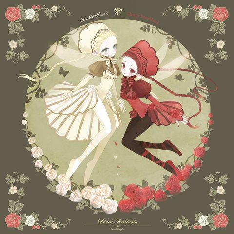 ◆◆茨の森にひっそりと暮らす真紅の妖精、シェリー=メイディランド(姉/19歳/120㎝程)そして一族の中でごく稀に生まれるアルビノ種、純白の妖精アルバ=メイディランド(妹/16歳/130㎝)の仲良し姉